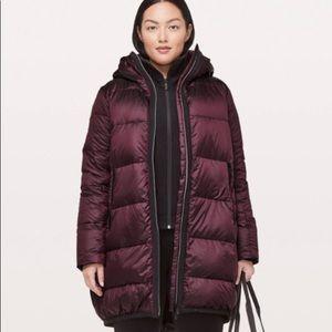 lululemon cloudscape Long jacket 2